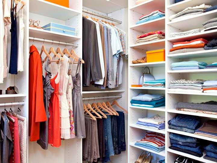 Как навести порядок в гардеробной и в шкафу