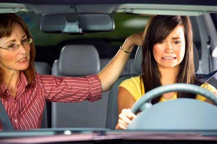 Настрой на вождение автомобиля
